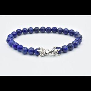 David Yurman spiritual bead with lapis lazuli .